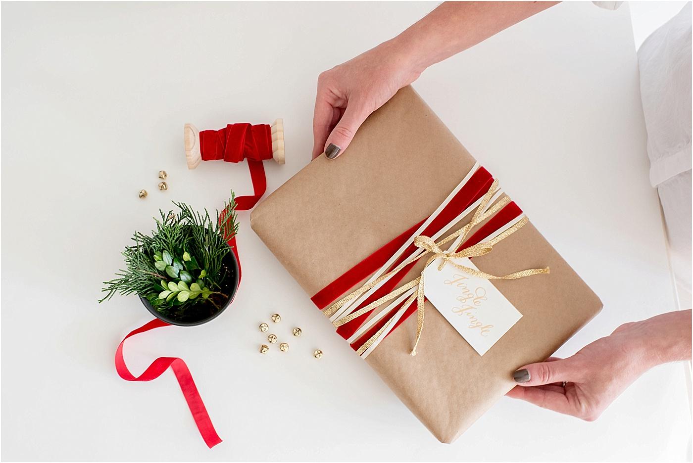 Kraft Paper Holiday Wrapping Kari Rider Events